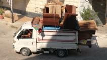 سوريون مهجرون من درعا (علا محمد/ الأناضول)