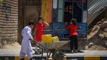 أطفال في أفغانستان (سجاد حسين/ فرانس برس)