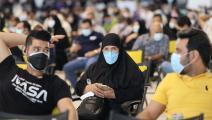 إيرانيون وكورونا في إيران (عطا كناره/ فرانس برس)