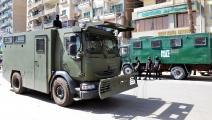 مركبات لنقل محكومين بالإعدام في مصر (السيد الباز/ الأناضول)