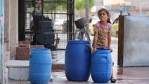 أزمة مياه في القامشلي في سورية (دليل سليمان/ فرانس برس)