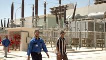 محطة كهرباء في ليبيا، فرانس برس