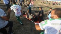 أصيب 41 فلسطينياً برصاص الاحتلال في غزة (عبد الحكيم أبو رياش)