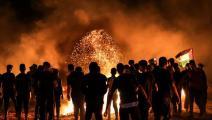 عودة فعاليات الإربال الليلي في غزة/محمود همس/فرانس برس
