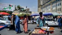 الحركة التجارية شبه معدومة في أسواق كابول (Getty)