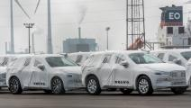 مصنع سيارات فولفو الجديد في بلجيكا (Getty)