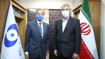 إسلامي يلتقي غروسي في طهران