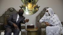 لقاء وزير خارجية الكونغو بنظيرته السودانية