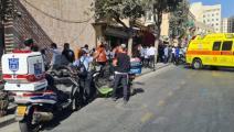 عملية طعن في القدس - تويتر