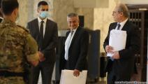 وزير مالية لبنان يوسف الخليل يوقع عقد التدقيق الجنائي حسين بيضون