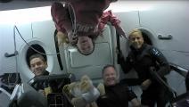 أجواء مرحة في أول رحلة سياحية للفضاء- تويتر