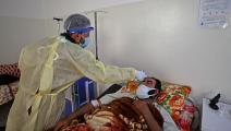 إصابات قياسية في الشمال السوري (عمر حاج قدورة/ فرانس برس)
