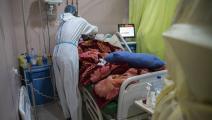متاعب كثيرة لمرضى السودان (عبد المنعم عيسى/ Getty)