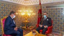 سياسة/محمد السادس يستقبل أخنوش/(وكالة المغرب العربي للأنباء)