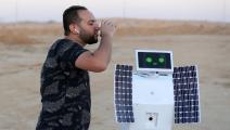 روبوت مصري يحول رطوبة الهواء لماء (تويتر)