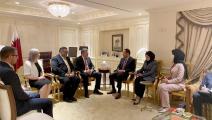 لقاءات وفد الائتلاف السوري في نيويورك-تويتر