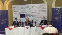 فيولا فون كرامون - رئيسة بعثة المراقبة التابعة للاتحاد الأوروبي - العراق - تويتر