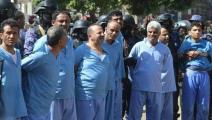 أكبر عملية إعدام جماعي للمناهضين للانقلاب الحوثي (تويتر)