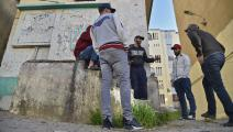 يشكل الشباب النسبة الأكبر من المجتمع الجزائري (رياض كرامدي/ فرانس برس)
