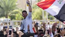 تظاهرة ضد البطالة والفساد في العراق (فرانس برس)