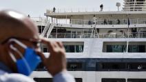 سفينة مسافرين في الجزائر/ فرانس برس