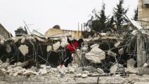 بيت فلسطيني هدمه الاحتلال في القدس (مصطفى الخروف/ الأناضول)
