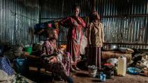 لاجئون إريتريون في إثيوبيا (إدواردو سوتيراس/ فرنس برس)