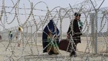 أفغان على الحدود بين أفغانستان وباكستان (فرانس برس)