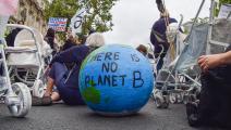 تحرك من أجل المناخ في بريطانيا (فوك فالتشيتش/ Getty)
