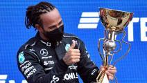 جائزة روسيا الكبرى: هاميلتون يُحقق فوزه الـ 100 في فورمولا 1