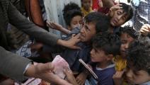 الأزمة تطاول الأطفال وتحرمهم من التعليم (محمد حمود/ Getty)