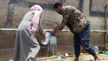 ساهمت مجموعة خيرية في توفير مياه صالحة للشرب في صنعاء (محمد حمود/ Getty)