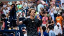 بطولة أميركا المفتوحة: زفيريف الى نصف النهائي