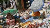 ركود في الأسواق نتيجة التضخم (خالد الدسوقي/ فرانس برس)