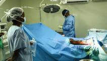 عمليات جراحية لمنظمة أطباء بلا حدود بعد زلزال هايتي (أطباء بلا حدود)