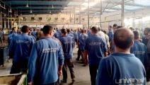 عمال يونيفرسال مصر (وسائل التواصل)