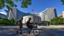 بورصة هونغ كونغ ساهمت في تمويل الطفرة الصناعية بالصين (Getty)