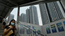 """مشروعات سكنية لشركة """"إيفرغراند"""" في مدينة شينزن (Getty)"""