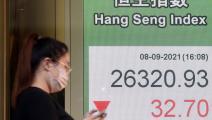 تراجع مؤشرات البورصات الصينية وسط مخاوف من الخسائر(Getty)