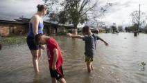 مليون منزل غمرتها الفيضانات في أميركا (Getty)