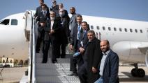 طائرة تابعة للخطوط الجوية الليبية (Getty)