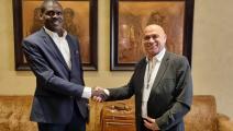 لقاء بين وزير العدل السوداني ووزير التعاون الإقليمي الإسرائيلي في الإمارات