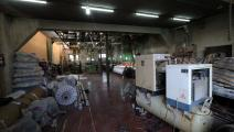 مصنع في حلب سورية (فرانس برس)