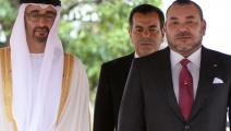 سياسة/محمد السادس ومحمد بن زايد/(فاضل سنة/فرانس برس)