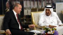 سياسة/أردوغان والملك سلمان/(ياسين بلبل/الأناضول)