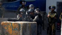 سياسة/قوات الاحتلال/(وسام هشلمون/الأناضول)