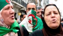 الحراك الشعبي الجزائري RYAD KRAMDI/AFP