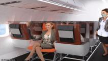 تصميمات مقاعد الطيران- تويتر