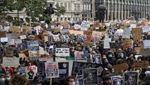 مظاهرات في لندن - القسم الثقافي
