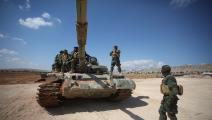 قوات المعارضة في إدلب